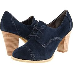 Hush Puppies - Paradise...delightful navy suede.  $42 at 6pm.com
