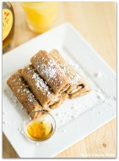 Banana Nutella French Toast Roll-Ups