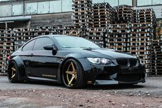 PP Exclusive E92 #BMW M3 with Liberty Walk kit