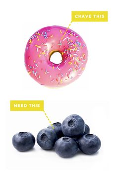 If you're craving sugar you need superfoods such as blueberries.