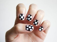 DIY polka dot nails | SheKnows