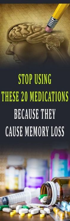STOP USING THESE 20 MEDICATIONS BECAUSE THEY CAUSE MEMORY LOSS #health #diy #beauty #remedy #brain