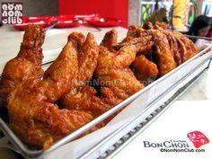 BonChon Chicken! Whether Soy Garlic or Spicy Glazed, this Korean Chicken delight will surely satisfy your taste buds! Ah bashta!!! :D
