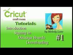 ▶ Beginning Cricut Craft Room Tutorials #1 - YouTube