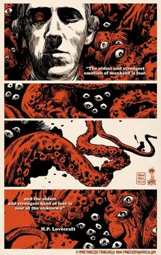 Francesco Francavilla Art — Lovecraft Fear