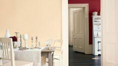 Dining room | Rooms | Dulux - Ruby Starlet and Ivory