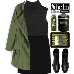 #SheIn by credentovideos on Polyvore featuring moda, Helmut Lang and Typhoon