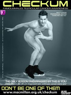 """Checkum Campaign - Matt Evers, Ice Skater """"Dancing on Ice"""" - See more: http://barbwirexsnap.blogspot.com/2012/07/checkum-campaign.html?"""