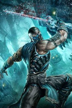 Sub Zero Mortal Kombat Sub Zero Mortal Kombat, Mortal Kombat Xl, Gi Joe, Mileena, Fantasy Warrior, Fan Art, Fighting Games, Video Game Art, Street Fighter