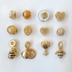 #pandorashine #pandoragold #pandorabracelet #bee #pandoracharm #jeweley #18k #pandoraring #pandora #pandorajewelry #pandoraaddict