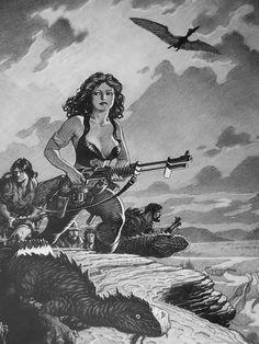 Mark Schultz - Dawn Patrol Comic Art