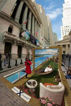 Door to the Caribbean | Pavement Art Gallery 2 | Kurt Wenner - Master Artist, Architect, and Street Painter