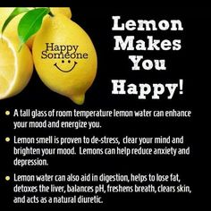 Uses for lemon water
