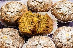 Muffins al profumo di mele e arance   gluten free, , mele, arance, marmellata, latte di cocco