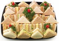 Easy Baby Shower Finger Sandwiches - Bing Images