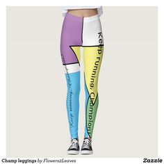 Discover Gym leggings at Zazzle! Gym Leggings, Tight Leggings, Leggings Fashion, Workout Leggings, Fitness Fashion, Gym Fashion, Fashion Outfits, Beautiful Yoga, Running Tights