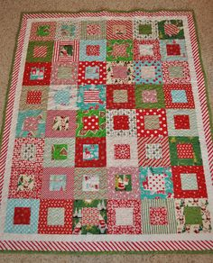 Stack and whack quilt