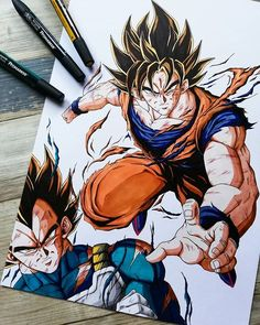 Goku Drawing, Ball Drawing, Dragon Ball Gt, One Piece Anime, Manga Anime, Anime Art, Manga Dragon, Arte Do Kawaii, Aztec Art