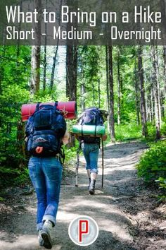 Alex Wilder's excellent advice on What to Bring on a Hike covers short, medium and Long + Overnight hikes and includes tips about preparation as well as the hiking gear you should take depending on how long you are heading out on the trail for. #hiking #hikinggear #hikingprep #hikingtips #getoutside #greatoutdoors