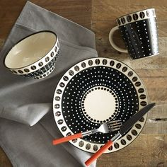 Potter's Workshop Tableware - Dot | west elm