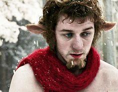 I'm a Faun. #JamesMcAvoy #Tumnus #Narnia