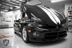1997 Dodge Viper gets a Connoisseur (3 stage buff and polish) Exterior Detail