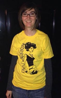 Endo Warrior Shirt MEDIUM by ENDOWARRIORSHIRT on Etsy, $20.00