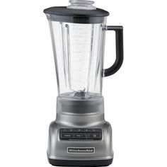 Crate & Barrel KitchenAid ® 5-Speed Contour Silver Diamond Vortex... (€110) ❤ liked on Polyvore featuring home, kitchen & dining, small appliances, kitchen aid small appliances, kitchen aid blender, ice crusher, kitchenaid small appliances and ice crusher blender