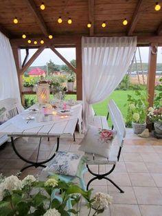 Rośliny i ogród, Taras - letnie aranżacje. - Taras na którym lubię spędzać latem czas :)