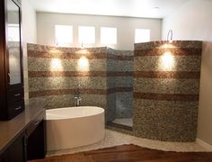 Bath Photos Walk-in Showers Design Ideas, Pictures, Remodel, and Decor - page 3
