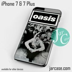OASIS black white poster Phone case for iPhone 7 and 7 Plus