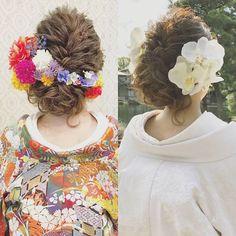 打掛と髪飾りを変えただけで 全然違う雰囲気に!! 髪型は一緒です! バニラエミュでは キャンペーン中、 お得に色打掛と白無垢が 着れちゃいます♪ ぜひお気軽にお問合せください(^^) #ヘア #ヘアメイク #ヘアアレンジ #結婚式 #結婚式ヘア #サロモ #日本中のプレ花嫁さんと繋がりたい #ウェディング #バニラエミュ #セットサロン #ヘアセット #花 #成人式ヘア #プレ花嫁 #結婚式前撮り #前撮り #着物ヘア #2016冬婚#2017秋婚 #和装ヘア#2016秋婚 #2017春婚 #結婚準備#成人式#和髪#2017秋婚 #2017冬婚 #振袖 #hair