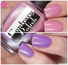 Contrary Polish Exclusive Color4Nails Duo | How Prim Is Your Rose & I Kinda Lilac You | Cosmetic Sanctuary FROM OUR AMAZING BLOGGER TEAM Shop here- www.color4nails.com Worldwide shipping available