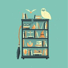 Potter Shelf | Rowling Comforters