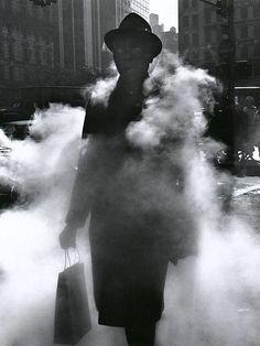 Arthur Tress    Man in Steam, New York, 1968
