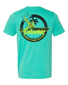 Short Sleeve Tee, Short Sleeves, Sport Fishing, Tee Shirts, Boating, Wells, Spanish, Mens Tops, Green
