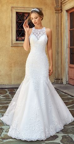 Classically Elegant 2018 Moonlight Couture Wedding Dresses Courtesy of Moonlight Wedding Dresses Couture Collection Lace Mermaid Wedding Dress, Princess Wedding Dresses, Elegant Wedding Dress, Perfect Wedding Dress, Dream Wedding Dresses, Designer Wedding Dresses, Bridal Dresses, Wedding Gowns, Lace Wedding