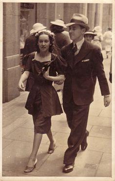 1937--a city couple's fashion