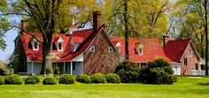 HISTORIC HOMES. Sotterly, Hollywood, Maryland.  The 25 Best Historic Homes in America | Traditional Home