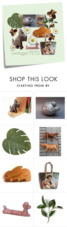 """""""(vintage) pets!"""" by feelingofdejavu ❤ liked on Polyvore featuring interior, interiors, interior design, home, home decor, interior decorating, Post-It, Pier 1 Imports, Christian Lacroix and vintage"""