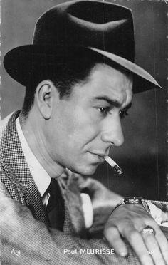 Paul Meurisse French Actor HAT Cigarette | eBay