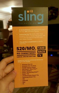 Sling TV review: Not quite the cord cutters dream, but a bargain for millennial families
