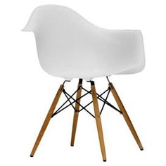 Pascal Accent Chair in White (Set of 2)