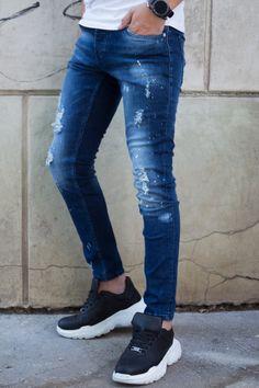 Blugi Slim COD 3390 Cod, Skinny Jeans, Slim, Pants, Style, Fashion, Trouser Pants, Swag, Moda