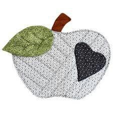 Maçã branca #mug_rug #apple_placemat