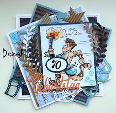 card, birthday, 70, Geburtstag