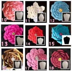 "19 Likes, 1 Comments - paper flower Almadinah (@paper_flowers123) on Instagram: ""أشكال الورد"""