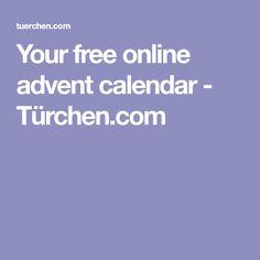 Your free online advent calendar - Türchen.com