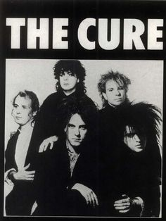 All Things Gothic Pop Rock, Rock And Roll, Rock Band Posters, Robert Smith The Cure, Punk Poster, Vintage Music Posters, Music Wall, Post Punk, Rock Music