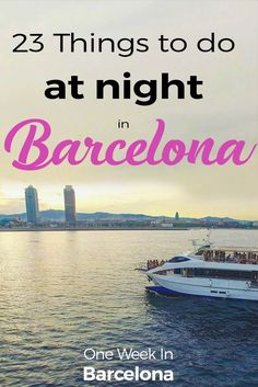 A collection of my very favorite things to do in Barcelona at night. From secret speakeasy bars to stunning sunset views to experiencing some of the high points of the city's culture, there are plenty of ways to enjoy the city once the lights are out. + Is Barcelona safe at night ?